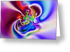 Abstract 230 Greeting Card by Rolf Bertram