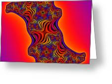 Abstract 34 Greeting Card by Rolf Bertram