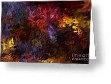 Abstract 5-23-09 Greeting Card by David Lane