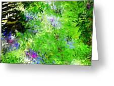 Abstract 5-26-09 Greeting Card by David Lane