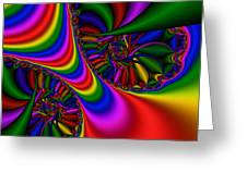 Abstract 502 Greeting Card by Rolf Bertram