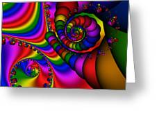 Abstract 506 Greeting Card by Rolf Bertram