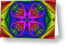 Abstract 602 Greeting Card by Rolf Bertram