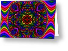 Abstract 617 Greeting Card by Rolf Bertram