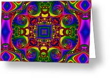 Abstract 619 Greeting Card by Rolf Bertram
