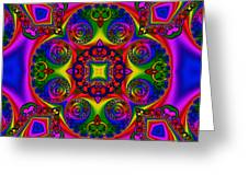 Abstract 620 Greeting Card by Rolf Bertram