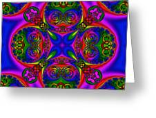 Abstract 622 Greeting Card by Rolf Bertram