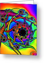 Abstract 65 Greeting Card by Rolf Bertram