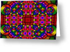 Abstract 652 Greeting Card by Rolf Bertram