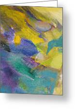 Abstract Close Up 13 Greeting Card by Anita Burgermeister