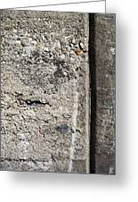 Abstract Concrete 16 Greeting Card by Anita Burgermeister
