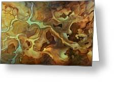 Abstract Design 29 Greeting Card by Michael Lang