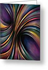 Abstract Design 55 Greeting Card by Michael Lang
