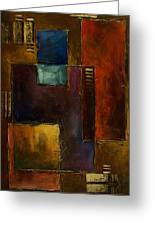 Abstract Design 65 Greeting Card by Michael Lang