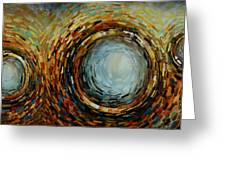 Abstract Design 68 Greeting Card by Michael Lang