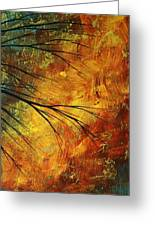 Abstract Landscape Art Passing Beauty 5 Of 5 Greeting Card by Megan Duncanson