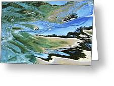 Abstract Underwater 4 Greeting Card by Vince Cavataio - Printscapes