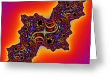 Abstrakt 64 Greeting Card by Rolf Bertram
