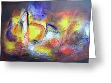 Abstrato Pf Zo Oopp Greeting Card by Fernando Antonio