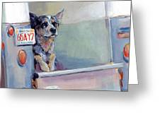 Acd Delivery Boy Greeting Card by Kimberly Santini