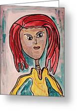 Addie- Noble And Kind Greeting Card by Mary Carol Williams