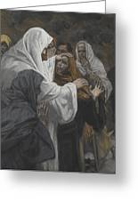 Address To Saint Philip Greeting Card by Tissot