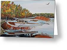 Aeronca Super Chief 0290 Greeting Card by Marilyn  McNish