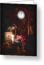 After Midnight Greeting Card by Tom Mc Nemar