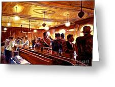 After The Market Closes Greeting Card by David Lloyd Glover