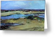 After The Rain Greeting Card by Diane Ursin