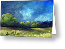 After The Storm Greeting Card by Linda L Martin