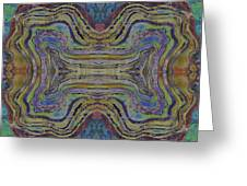 Agate Inspiration - 24c Greeting Card by Sue Duda