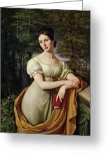 Agnes Rauch Greeting Card by Wilhelm Schadow
