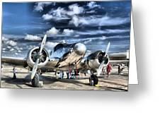 Air Hdr Greeting Card by Arthur Herold Jr
