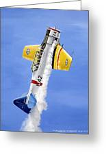 Air Show Greeting Card by Marc Stewart