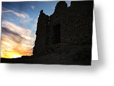 Ait Benhaddou Greeting Card by Oliver Johnston