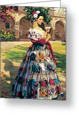 Al Aire Libre Greeting Card by Jean Hildebrant