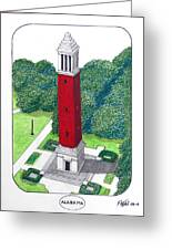 Alabama Greeting Card by Frederic Kohli