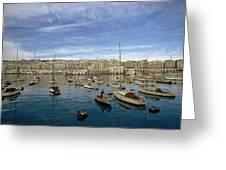 Algerians Call Their Capital Algiers Greeting Card by Thomas J. Abercrombie
