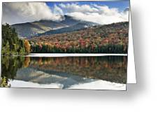 Algonquin Peak From Heart Lake - Adirondack Park - New York Greeting Card by Brendan Reals