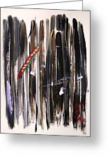 Almost Vertical Greeting Card by Mary Carol Williams