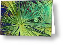 Aloe Vera Plant Greeting Card by Susanne Van Hulst