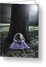 Alone At Night Greeting Card by Joana Kruse