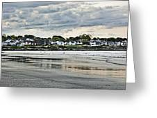 Along The Beach Greeting Card by Joel P Black