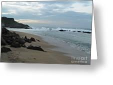Along The Beach Puerto Rico Greeting Card by Patty Vicknair