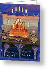 Altar With Trees Greeting Card by Roberta Baker