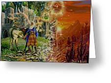 Alter Terrain Greeting Card by Steve Roberts