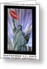America On Alert II Greeting Card by Mike McGlothlen