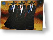 American Justice Greeting Card by Lance Headlee