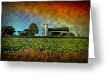 Amish Country Farm Greeting Card by Bill Cannon
